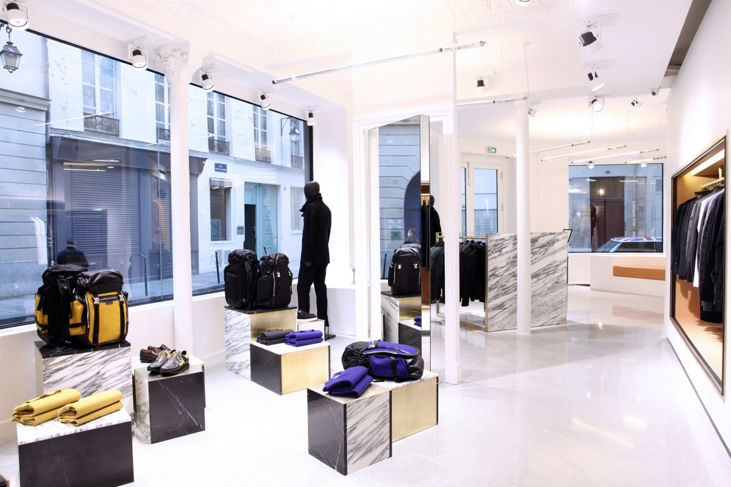 Architecture - STÉPHANE GHESTEM - Wooyoungmy boutique. Paris III